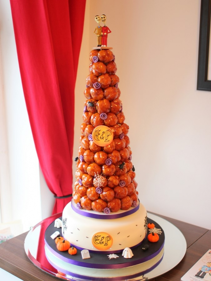 Croquembouche Trick Or Treat French Wedding Cakes