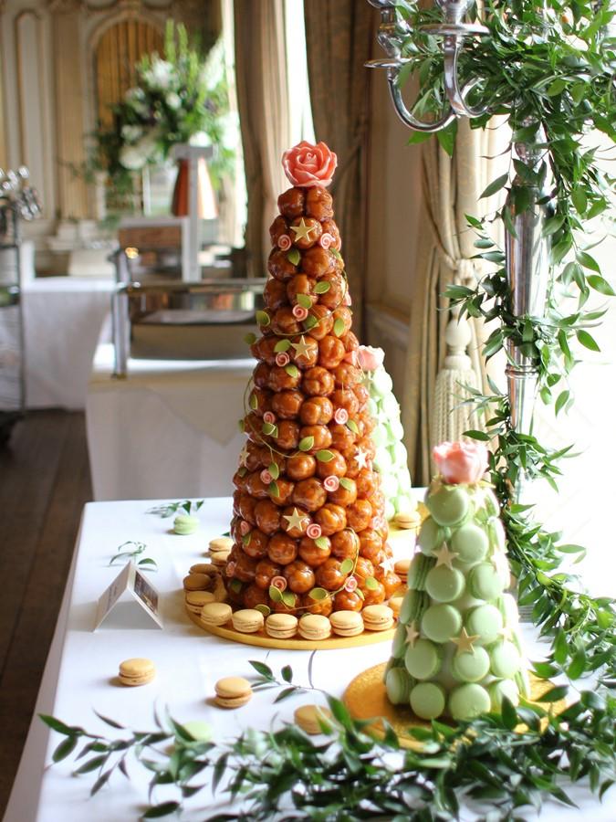 Croquembouche Of 160 Profiteroles French Wedding Cakes