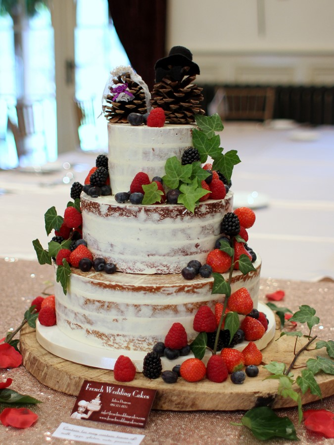 Naked Cakes French Wedding Cakes
