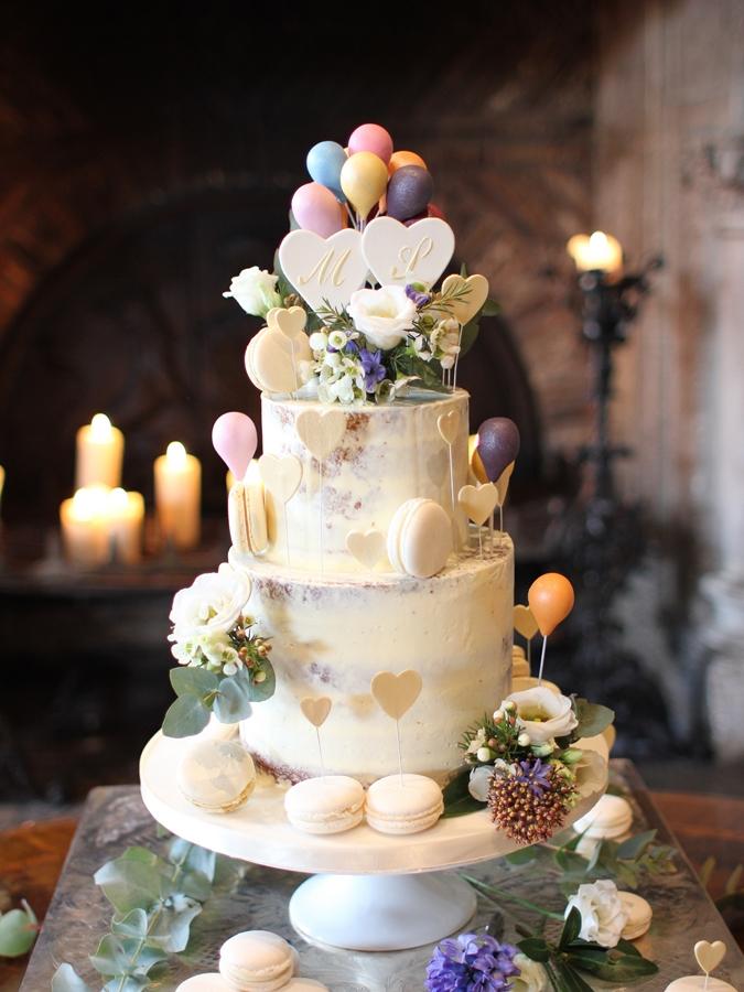 Macarons Et Ballons French Wedding Cakes